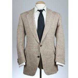 Vintage Harris Tweed Herringbone Blazer